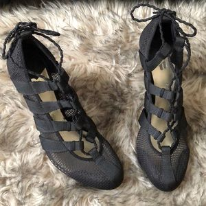 Isabel Toledo for Payless - Black lace-up heels